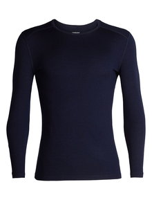 Alussärk merino BF260 Tech LS Crewe Midnight Navy